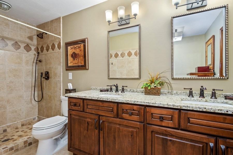 Real Estate Photography - 19441 W Tahoe Dr, Mundelein, IL, 60060 - Master Bathroom
