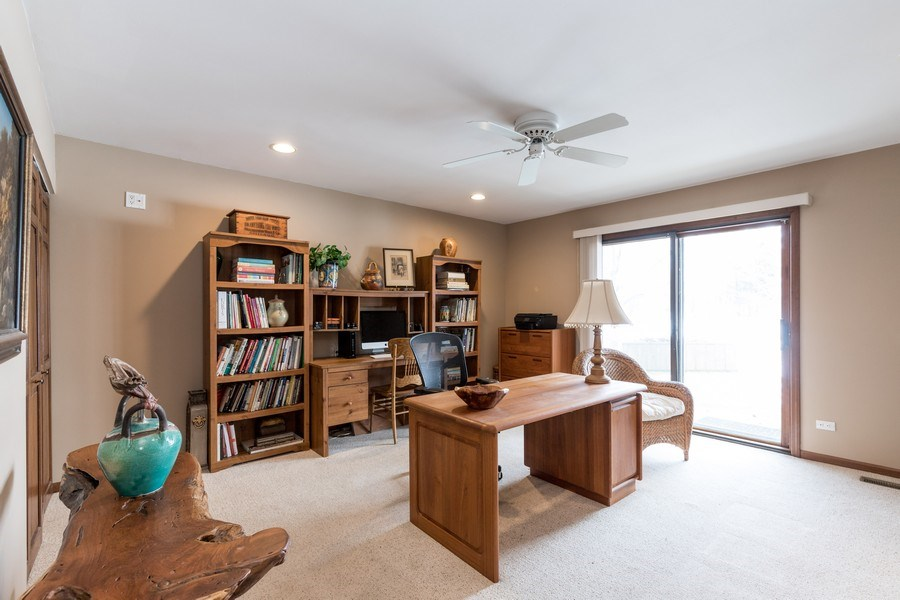 Real Estate Photography - 19441 W Tahoe Dr, Mundelein, IL, 60060 - 1st Floor Bedroom