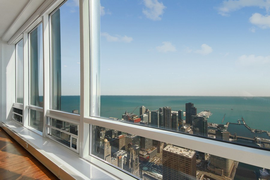 Real Estate Photography - 401 N Wabash, Unit 69G, Chicago, IL, 60611 - View