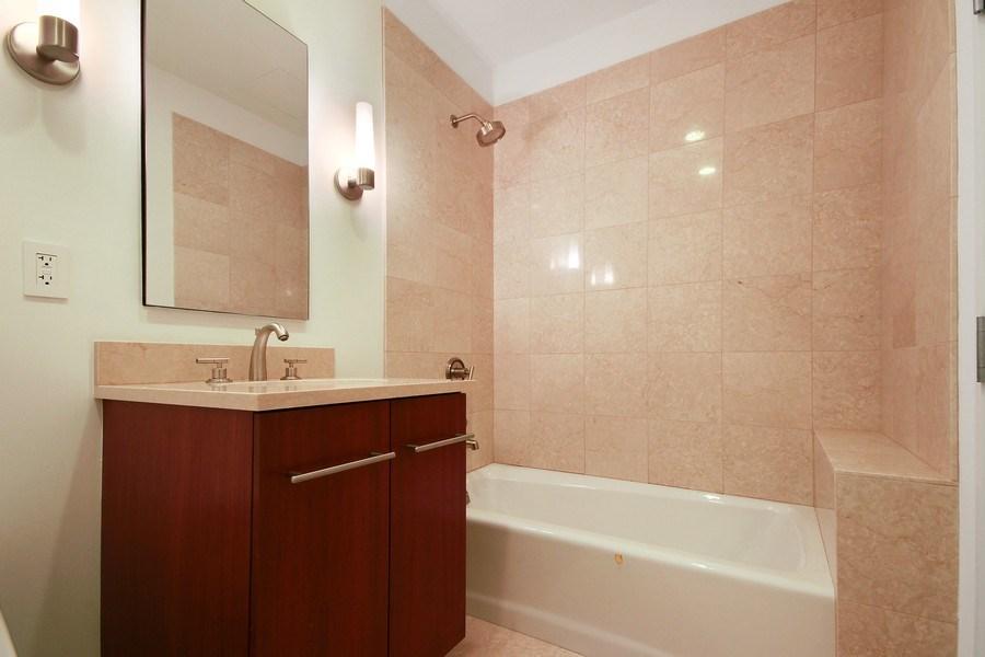 Real Estate Photography - 401 N Wabash, Unit 69G, Chicago, IL, 60611 - Bathroom