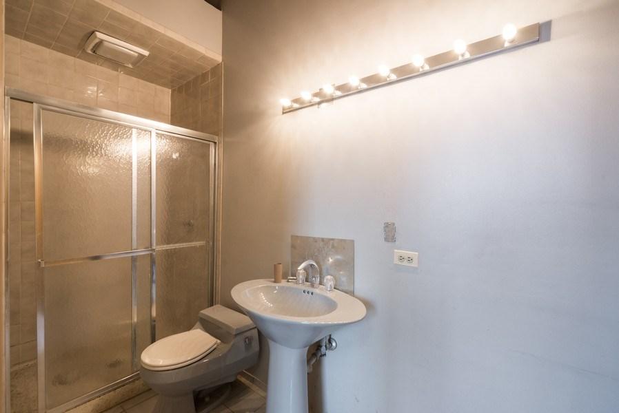 Real Estate Photography - 1714 N Pulaski Ave, Chicago, IL, 60639 - Bathroom