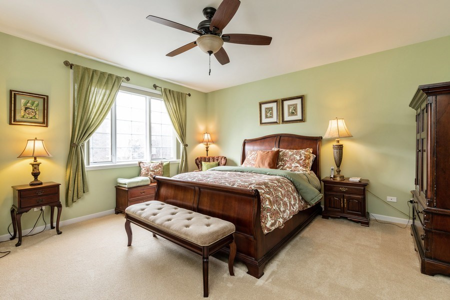 Real Estate Photography - 543 N Hough St, Unit 204, Barrington, IL, 60010 - Master Bedroom