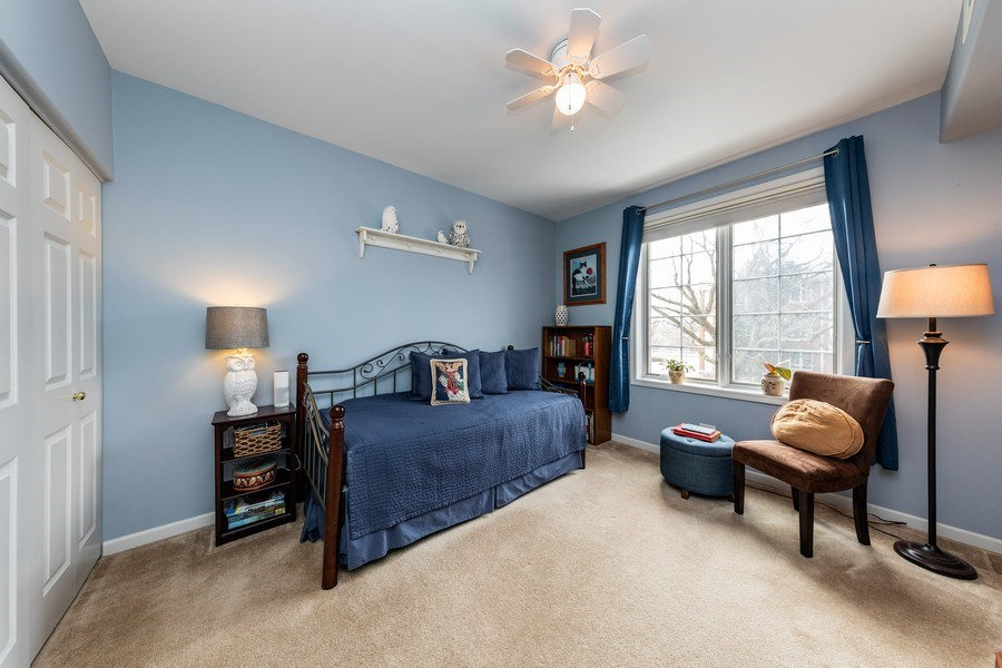 Real Estate Photography - 543 N Hough St, Unit 204, Barrington, IL, 60010 - 2nd Bedroom