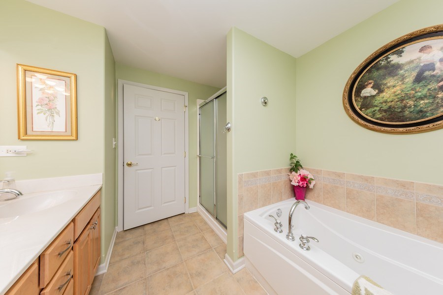 Real Estate Photography - 543 N Hough St, Unit 204, Barrington, IL, 60010 - Master Bathroom