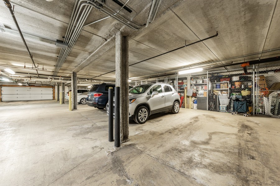 Real Estate Photography - 543 N Hough St, Unit 204, Barrington, IL, 60010 - Garage