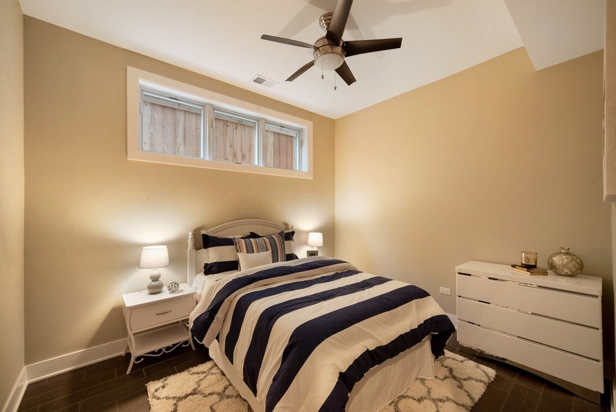 Real Estate Photography - 1220 W OHIO STREET 1, CHICAGO, IL, 60642 - 2nd Bedroom