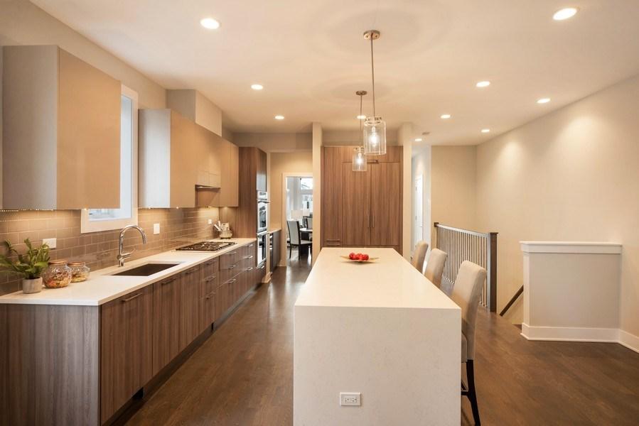 Real Estate Photography - 1220 W OHIO STREET 1, CHICAGO, IL, 60642 - Kitchen