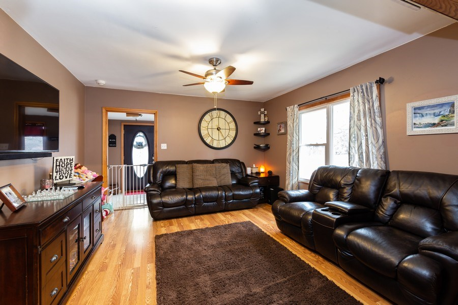 Real Estate Photography - 300 N Princeton Ave, Villa Park, IL, 60181 - Living Room