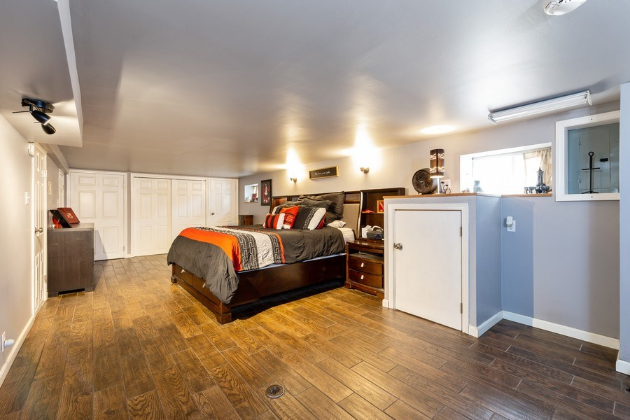 Real Estate Photography - 300 N Princeton Ave, Villa Park, IL, 60181 - Master Bedroom/Basement