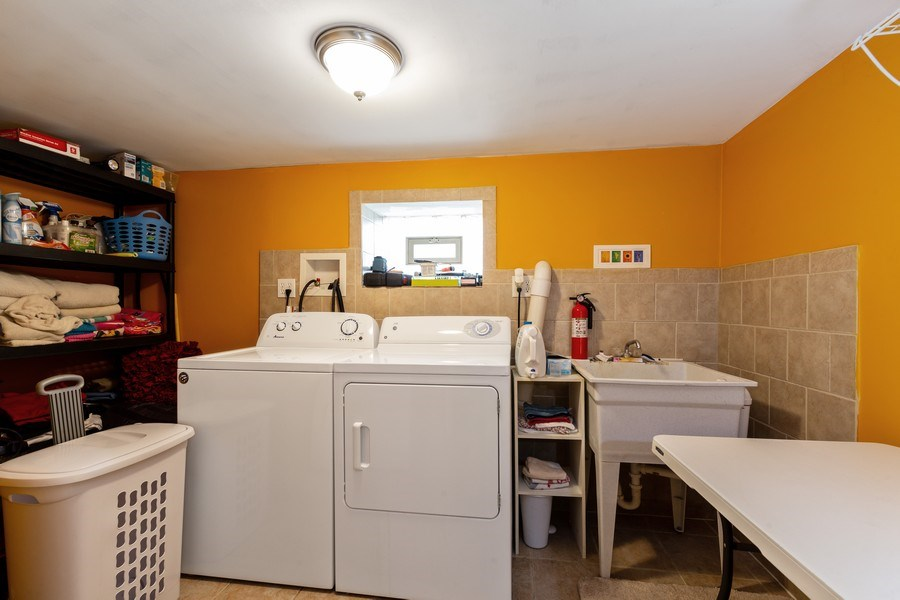 Real Estate Photography - 300 N Princeton Ave, Villa Park, IL, 60181 - Laundry Room
