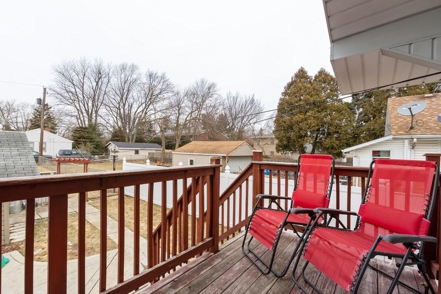Real Estate Photography - 300 N Princeton Ave, Villa Park, IL, 60181 - Deck
