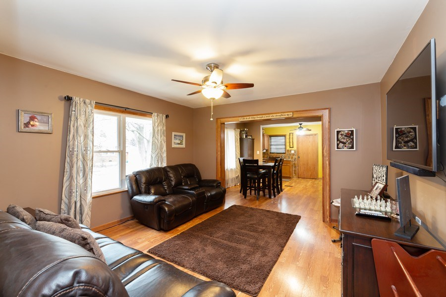 Real Estate Photography - 300 N Princeton Ave, Villa Park, IL, 60181 - Living Room / Dining Room
