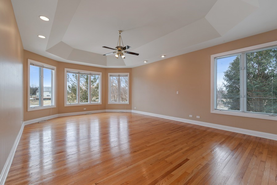 Real Estate Photography - 20945 N Swansway, Deer Park, IL, 60010 - Master Bedroom