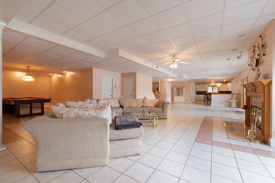 Real Estate Photography - 20945 N Swansway, Deer Park, IL, 60010 - Basement