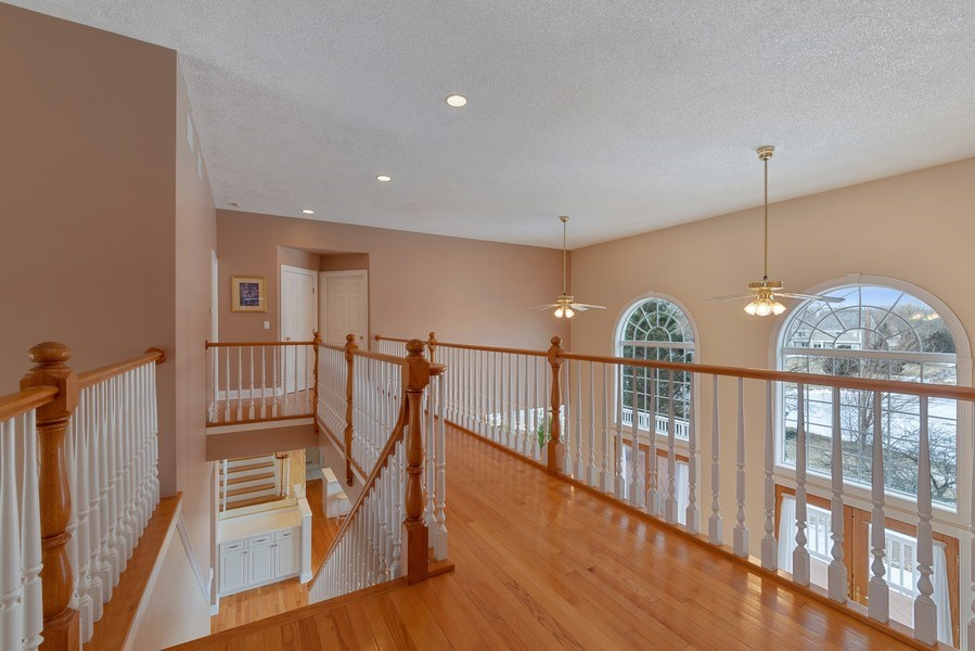 Real Estate Photography - 20945 N Swansway, Deer Park, IL, 60010 - Hallway
