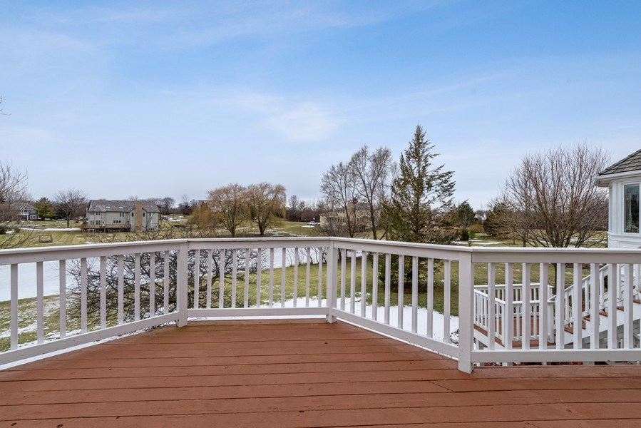 Real Estate Photography - 20945 N Swansway, Deer Park, IL, 60010 - Deck