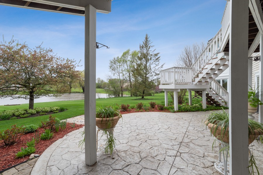 Real Estate Photography - 20945 N Swansway, Deer Park, IL, 60010 - Patio