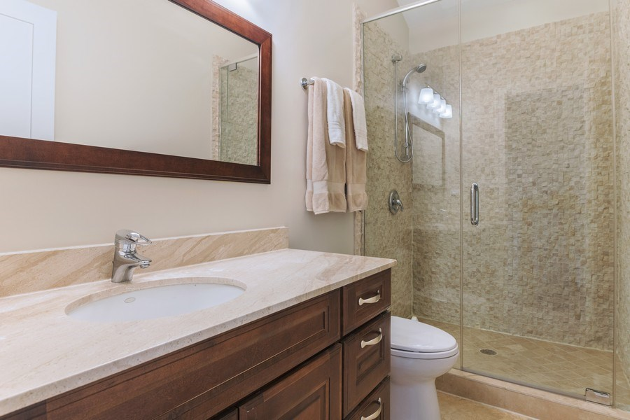 Real Estate Photography - 2230 W Medill Ave, Chicago, IL, 60647 - 3rd Bathroom