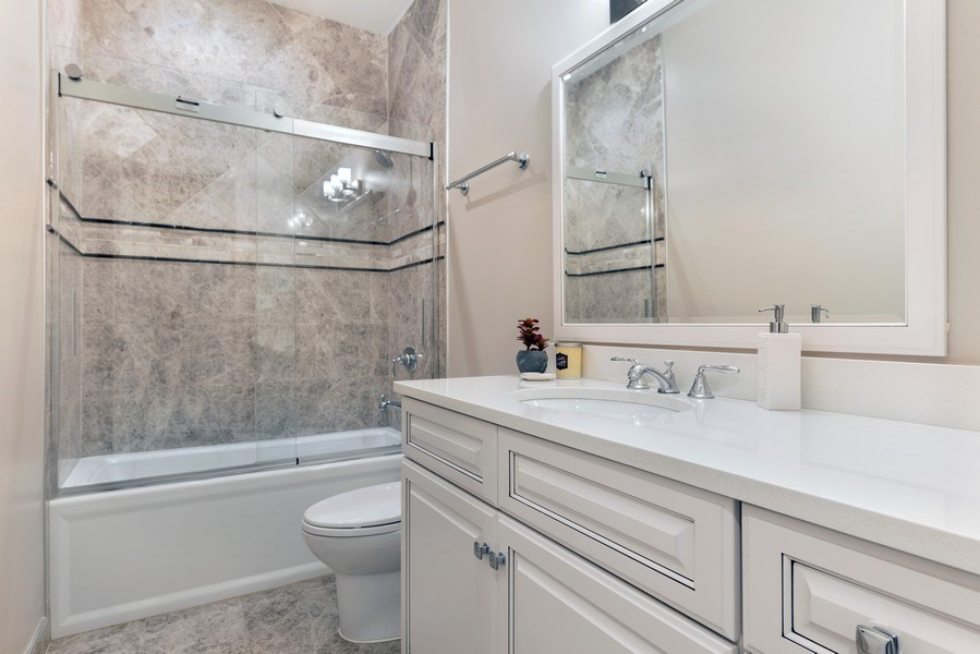 Real Estate Photography - 2230 W Medill Ave, Chicago, IL, 60647 - 4th Bathroom