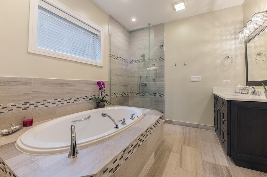 Real Estate Photography - 2230 W Medill Ave, Chicago, IL, 60647 - Master Bathroom