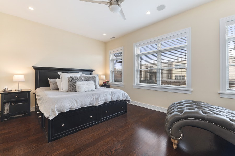 Real Estate Photography - 2230 W Medill Ave, Chicago, IL, 60647 - Master Bedroom