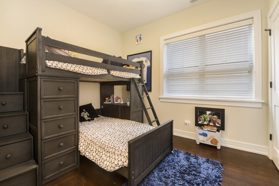 Real Estate Photography - 2230 W Medill Ave, Chicago, IL, 60647 - 3rd Bedroom