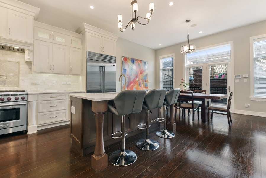 Real Estate Photography - 2230 W Medill Ave, Chicago, IL, 60647 - Kitchen