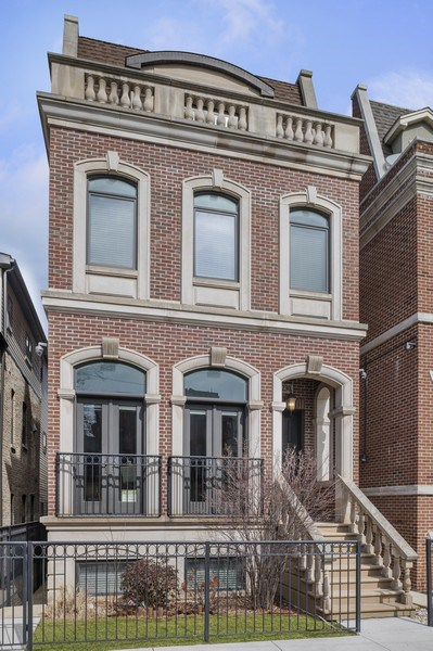 Real Estate Photography - 2230 W Medill Ave, Chicago, IL, 60647 - Front View