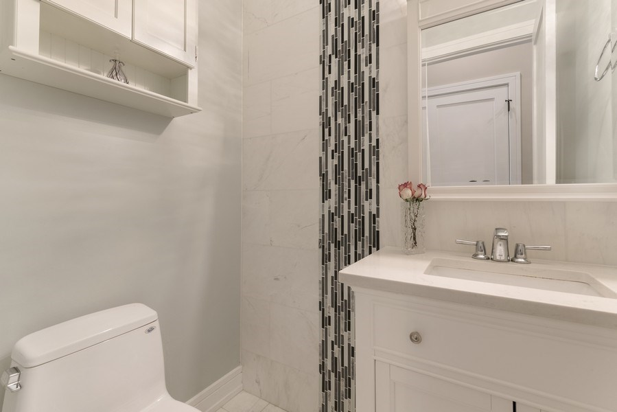 Real Estate Photography - 2230 W Medill Ave, Chicago, IL, 60647 - Powder room