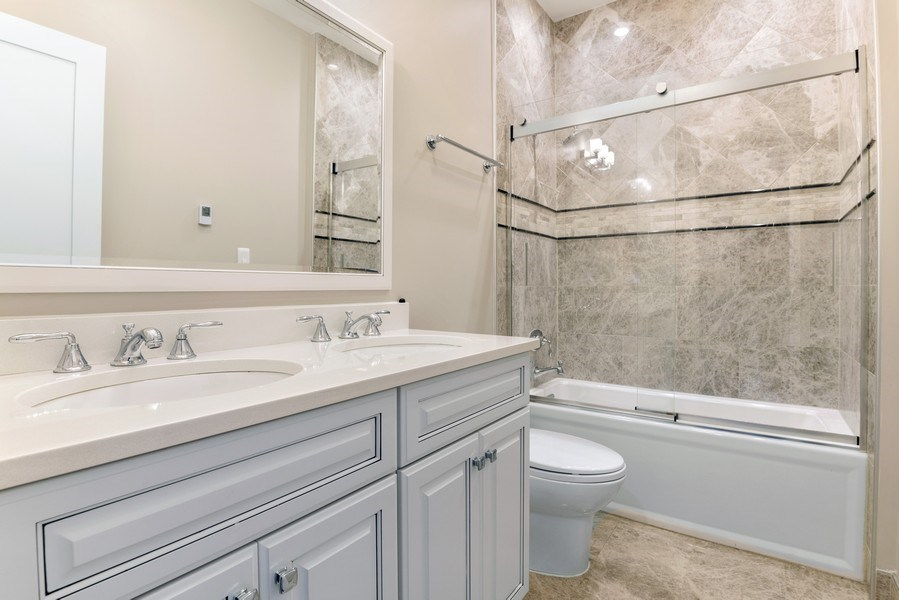 Real Estate Photography - 2230 W Medill Ave, Chicago, IL, 60647 - Full Bath