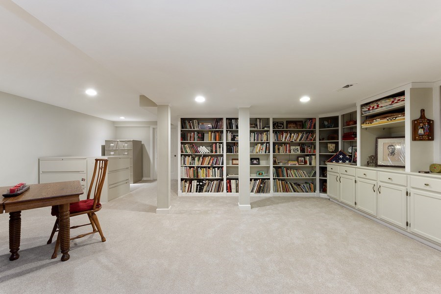 Real Estate Photography - 2 Court of Natchez, Lincolnshire, IL, 60069 - Basement