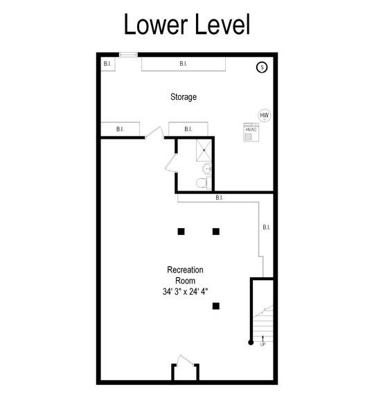 Real Estate Photography - 2 Court of Natchez, Lincolnshire, IL, 60069 - Floor Plan