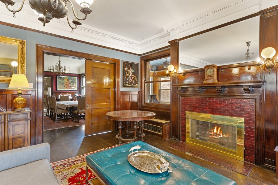 Real Estate Photography - 4541 S Michigan Ave, Chicago, IL, 60653 - Living Room