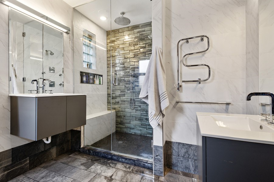 Real Estate Photography - 4541 S Michigan Ave, Chicago, IL, 60653 - Master Bathroom