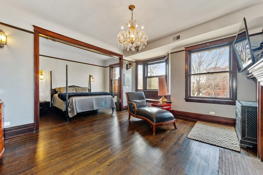 Real Estate Photography - 4541 S Michigan Ave, Chicago, IL, 60653 - Master Bedroom