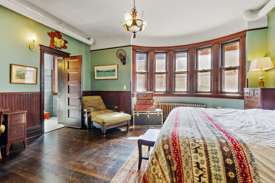 Real Estate Photography - 4541 S Michigan Ave, Chicago, IL, 60653 - 2nd Bedroom