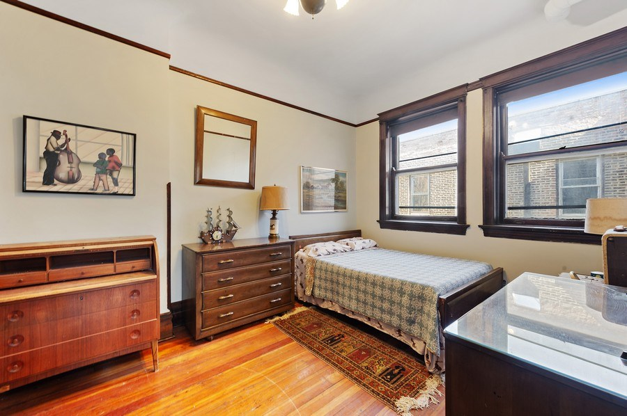 Real Estate Photography - 4541 S Michigan Ave, Chicago, IL, 60653 - 3rd Bedroom