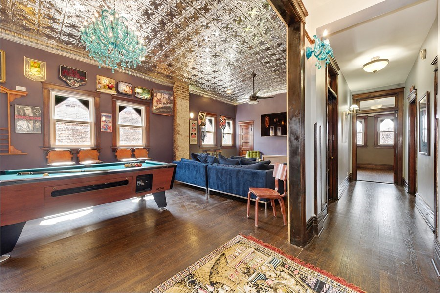 Real Estate Photography - 4541 S Michigan Ave, Chicago, IL, 60653 - Recreational Room