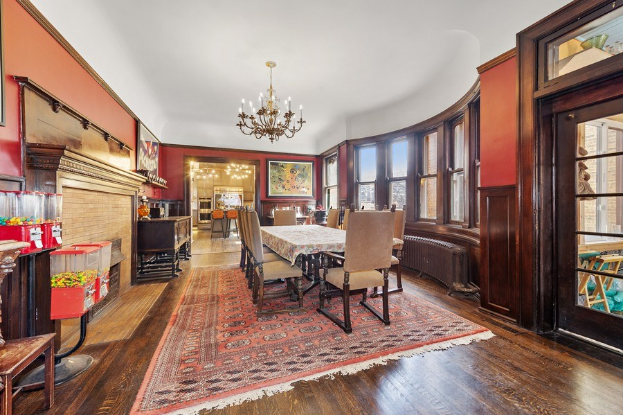 Real Estate Photography - 4541 S Michigan Ave, Chicago, IL, 60653 - Dining Room