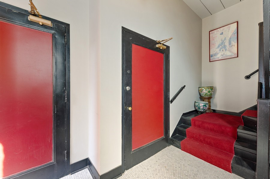 Real Estate Photography - 4541 S Michigan Ave, Chicago, IL, 60653 - Coach House Entry