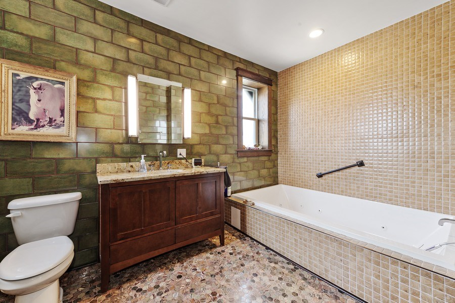 Real Estate Photography - 4541 S Michigan Ave, Chicago, IL, 60653 - 3rd Bathroom