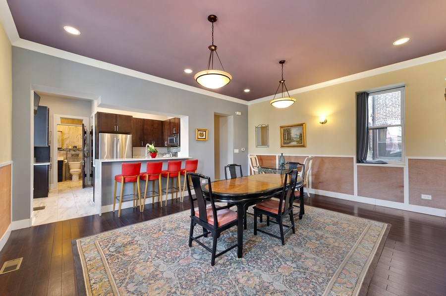 Real Estate Photography - 4541 S Michigan Ave, Chicago, IL, 60653 - Coach House Dining Room