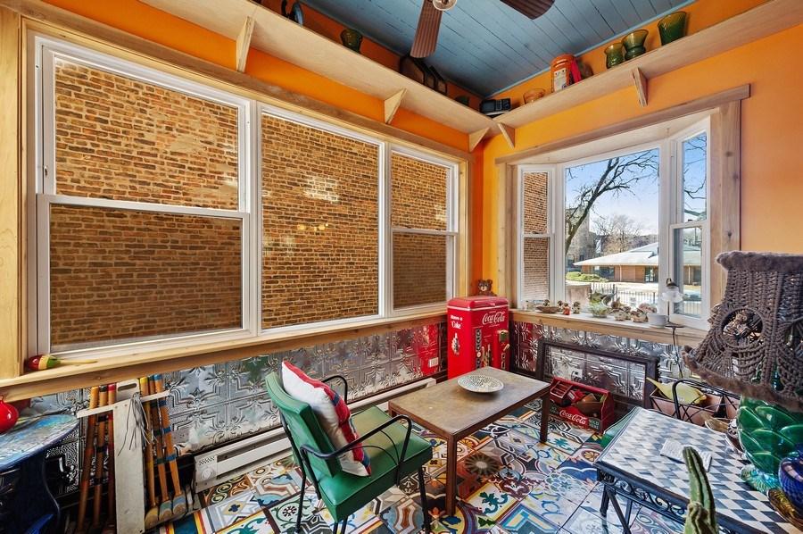 Real Estate Photography - 4541 S Michigan Ave, Chicago, IL, 60653 - Sun Room
