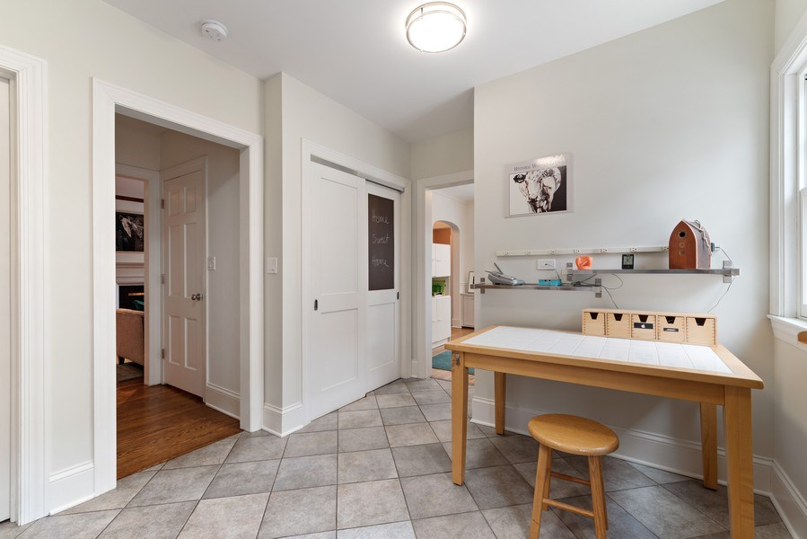 Real Estate Photography - 1725 Maplewood Ln, Glenview, IL, 60025 - Mudroom