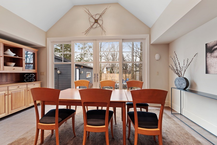 Real Estate Photography - 1725 Maplewood Ln, Glenview, IL, 60025 - Dining Room