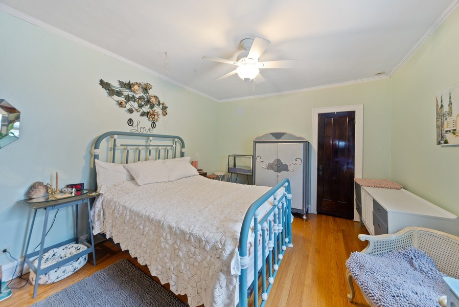 Real Estate Photography - 4042 N Springfield, Chicago, IL, 60618 - Unit 2 Bedroom 1