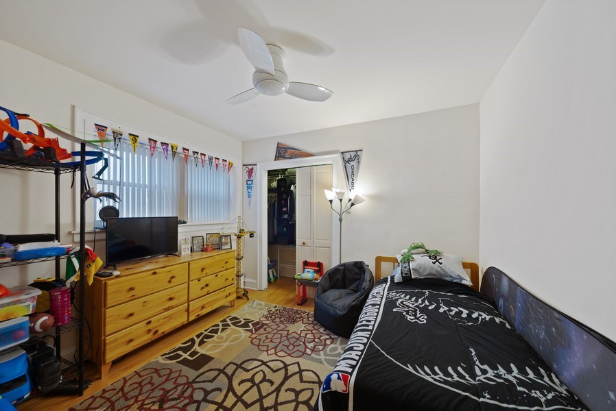 Real Estate Photography - 4042 N Springfield, Chicago, IL, 60618 - Unit 1 Bedroom 2