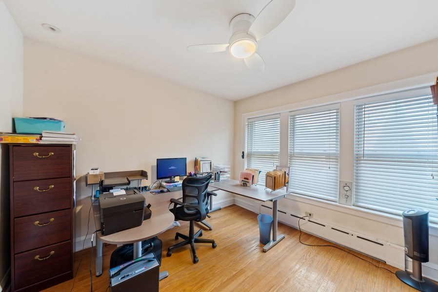 Real Estate Photography - 4042 N Springfield, Chicago, IL, 60618 - Unit 1 Bedroom 3