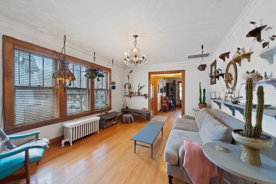 Real Estate Photography - 4042 N Springfield, Chicago, IL, 60618 - Unit 2 Dining Room View 2 (currently used as famil