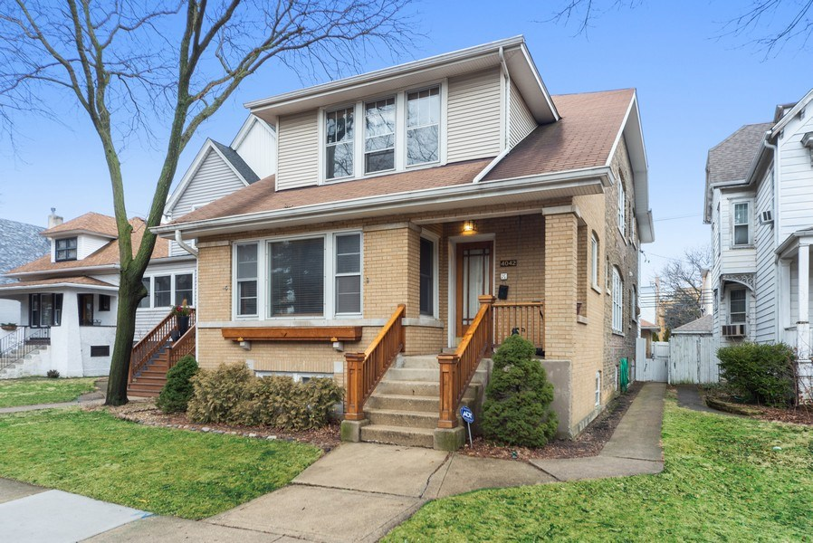Real Estate Photography - 4042 N Springfield, Chicago, IL, 60618 - Front View